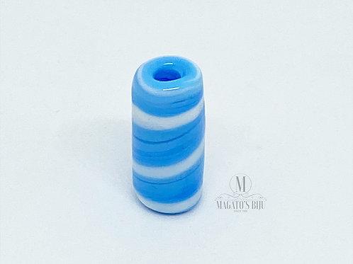 Firma Azul Clara e Branca Mesclada M
