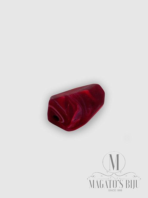 Casulo Fosco Mesclado Vermelho