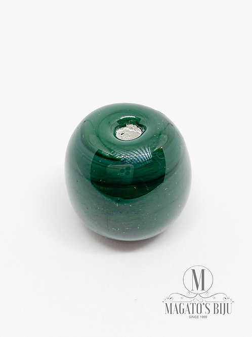 Bola Verde Musgo Leitosa