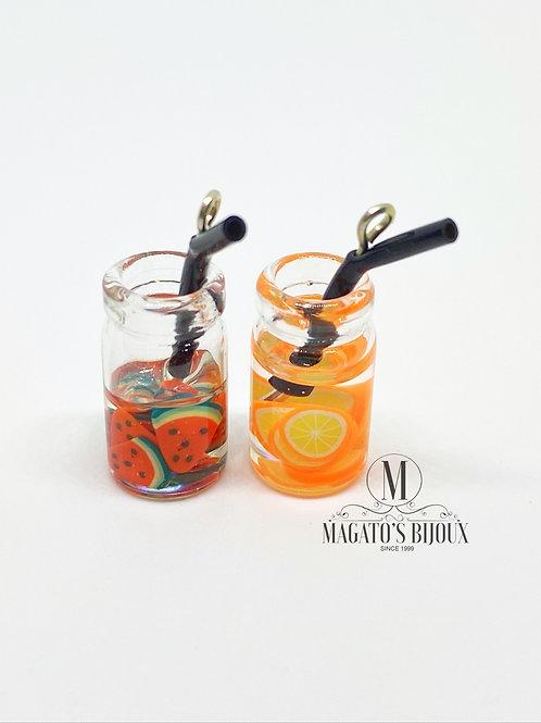 Pingente Drinks (Melancia e Laranja)