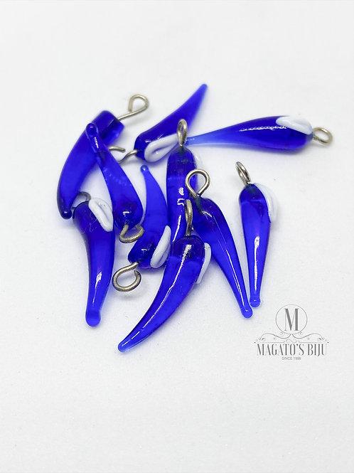 Pimentinha Azul Transparente