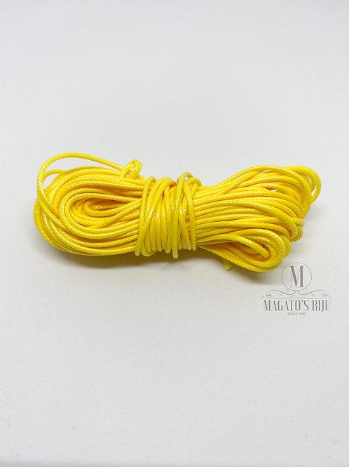 Cordão Encerado Amarelo Brilhoso (Fino)
