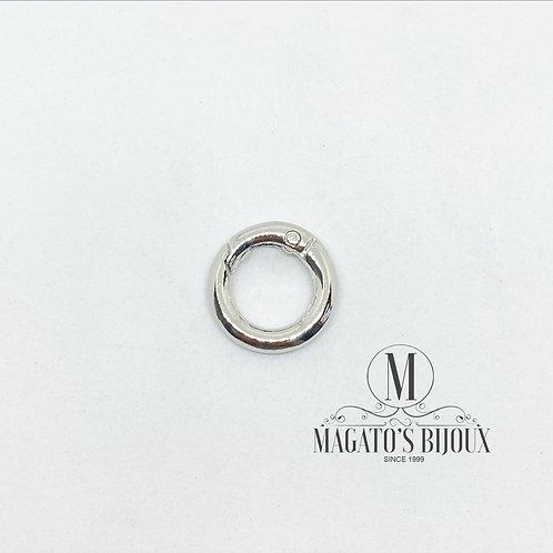Fecho de Argola de Metal Níquel 02cm
