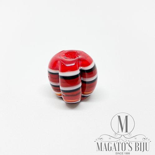 Pitanga (G) -  Mesclada Vermelha e Branca c/ Preto