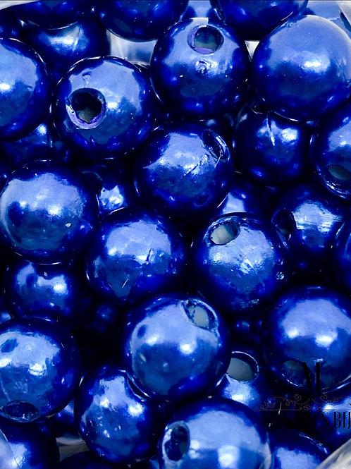 Pérola Azul Marinho ABS Nº 8
