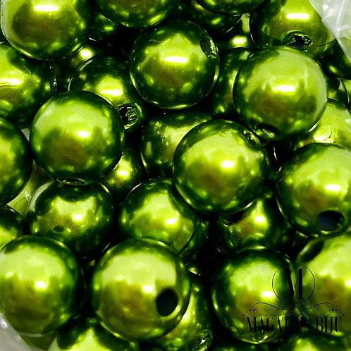 Pérola Verde Metálico 01 Nº 8