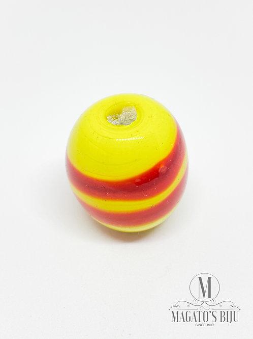 Bola Amarela c/ Vermelho