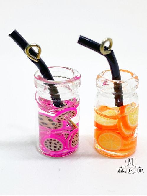 Pingente Drinks (Pitaya e Laranja)