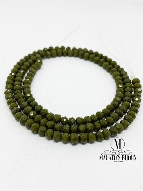 Fio de Cristal Verde Musgo 02 N° 04