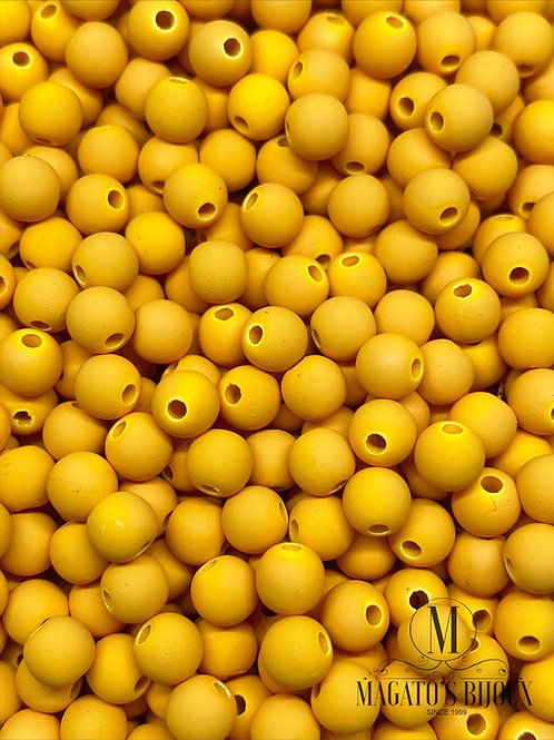 Bolinha Emborrachada Amarela N° 06