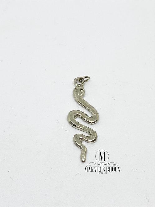 Pingente de Cobra Níquel