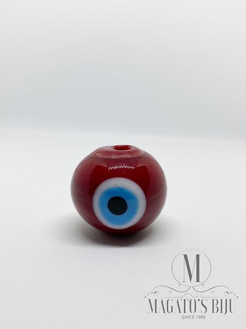 Bola Olho Grego Vermelha (G)