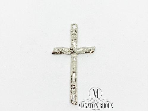 Pingente de Crucifixo Níquel