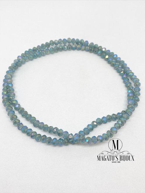 Fio de Cristal Azul Boreal N 04
