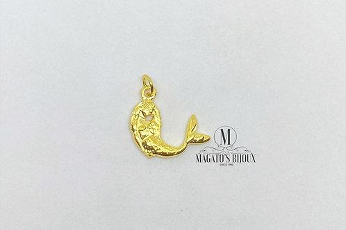 Pingente de Sereia Dourada (P)