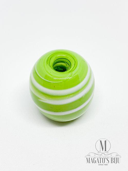 Bola Verde Pistache c/ Branco