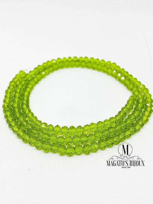 Fio de Cristal Verde 03 N° 04