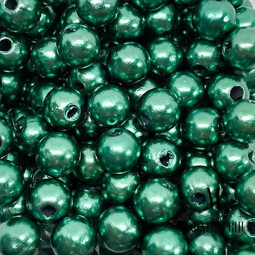 Pérola Verde Metálico 03 ABS N°6