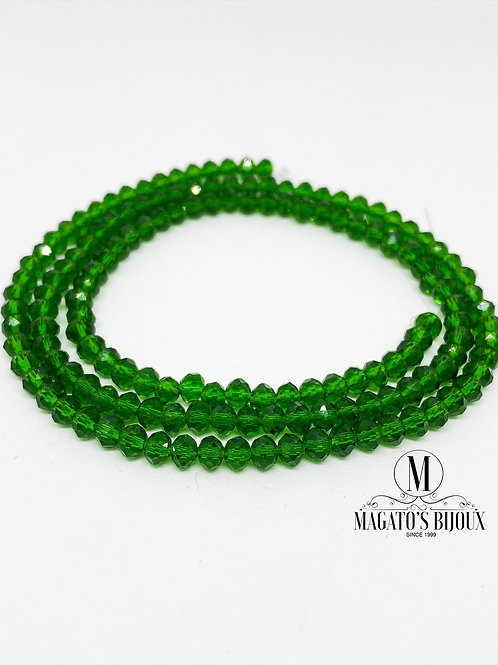 Fio de Cristal Verde 07 N° 04