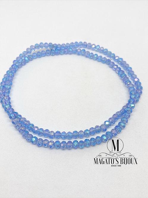 Fio de Cristal Azul Claro Boreal N 04