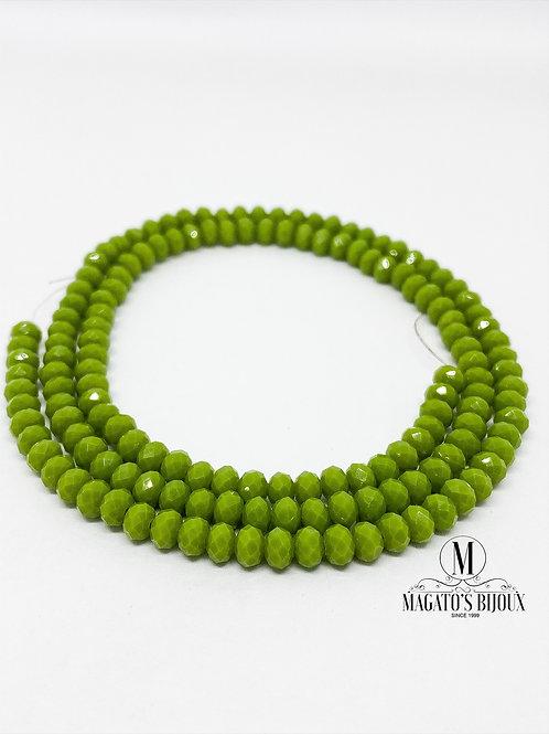 Fio de Cristal Verde 05 N° 04