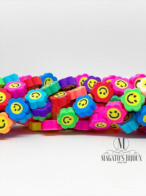 Fimo Smile Colorido Flor