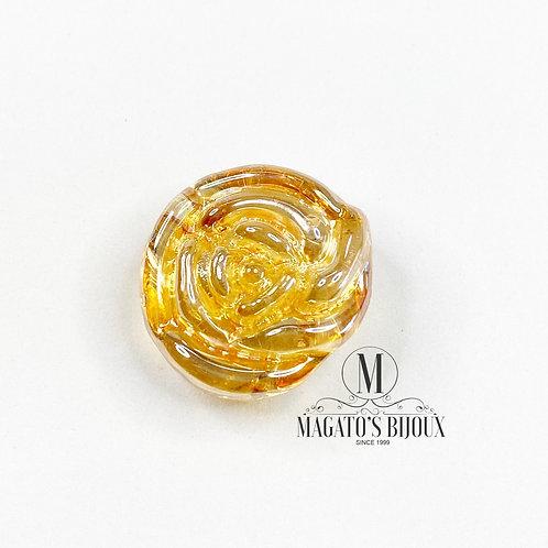 Flor de Murano - Transparente Irisada