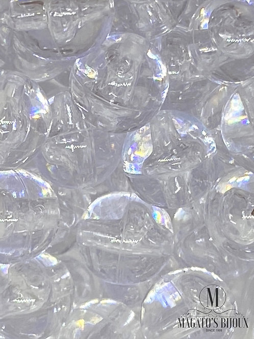 Bolinhas de Plástico Transparente N 08