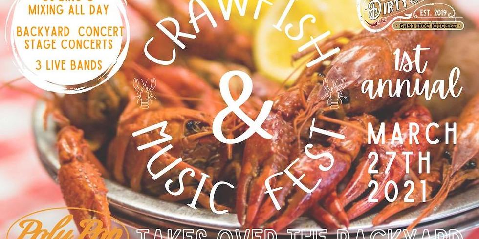 1st Annual Crawfish & Music Fest