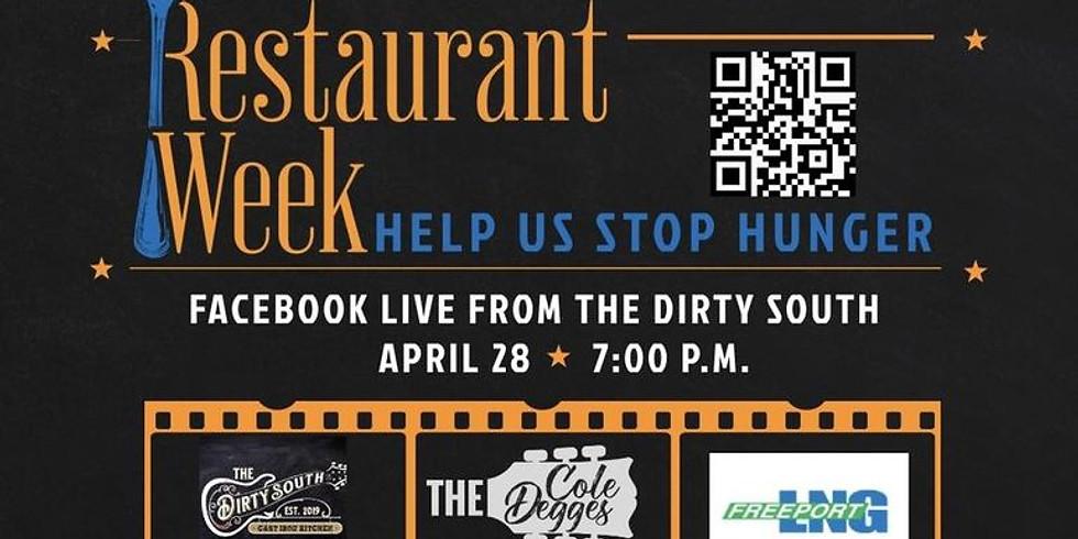 Brazosport Cares   Restaurant Week   Cole Degges