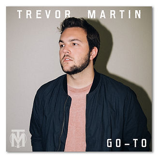 trevor martin - go to album cover art -