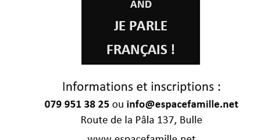 Cours de français parent-enfant (3 septembre au 10 décembre)