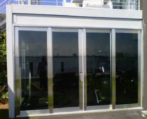 hurricane impact sliding doors