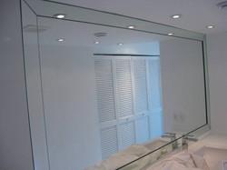 vanity mirror - beveled mirror frame