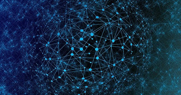 image de connexions neuronales lors de mouvements oculaires