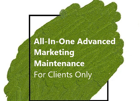 Advanced Marketing Maintenance - For Clients Only