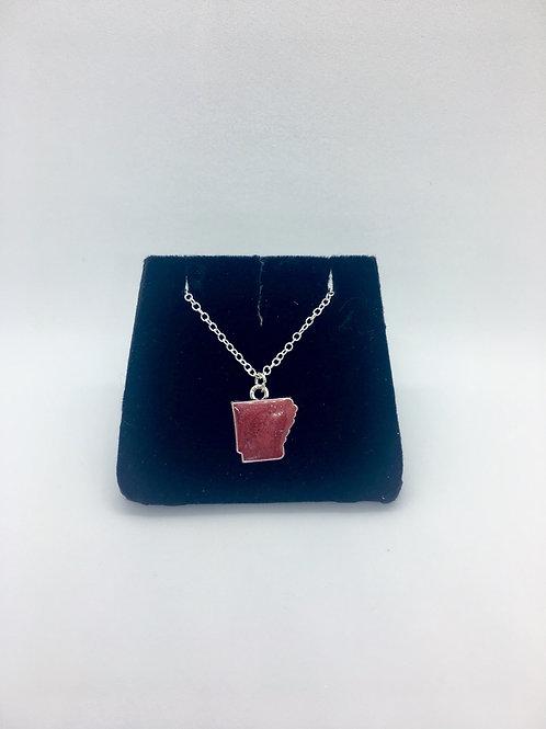 Arkansas Charm w/ necklace