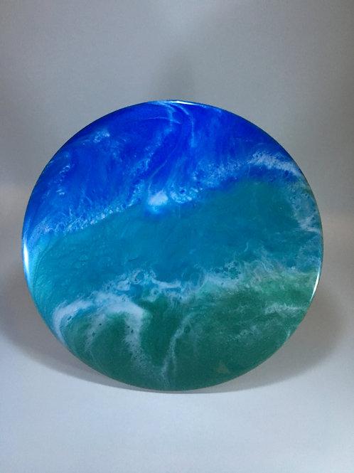 "Ocean Inspired 8"" Round"