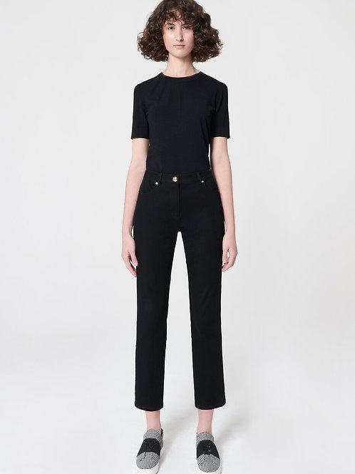 ג'ינס כהה עם תפרי טוקסידו