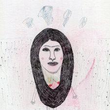 Mujer pelo pensamientos