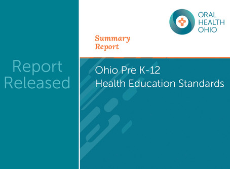 New Report: Ohio Pre K-12 Health Education Standards