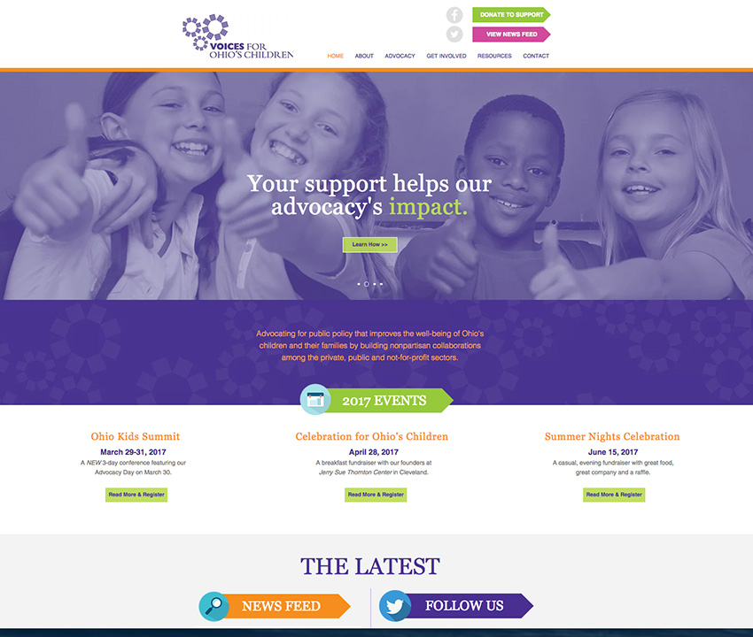 JP Design:Voices for Ohio's Children