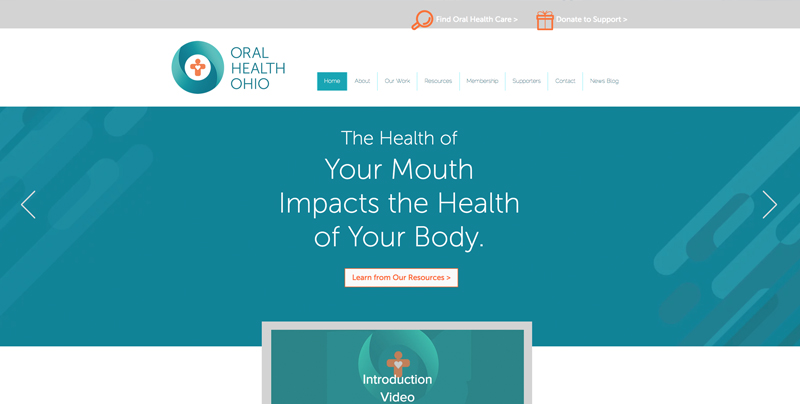 Website: Oral Health Ohio