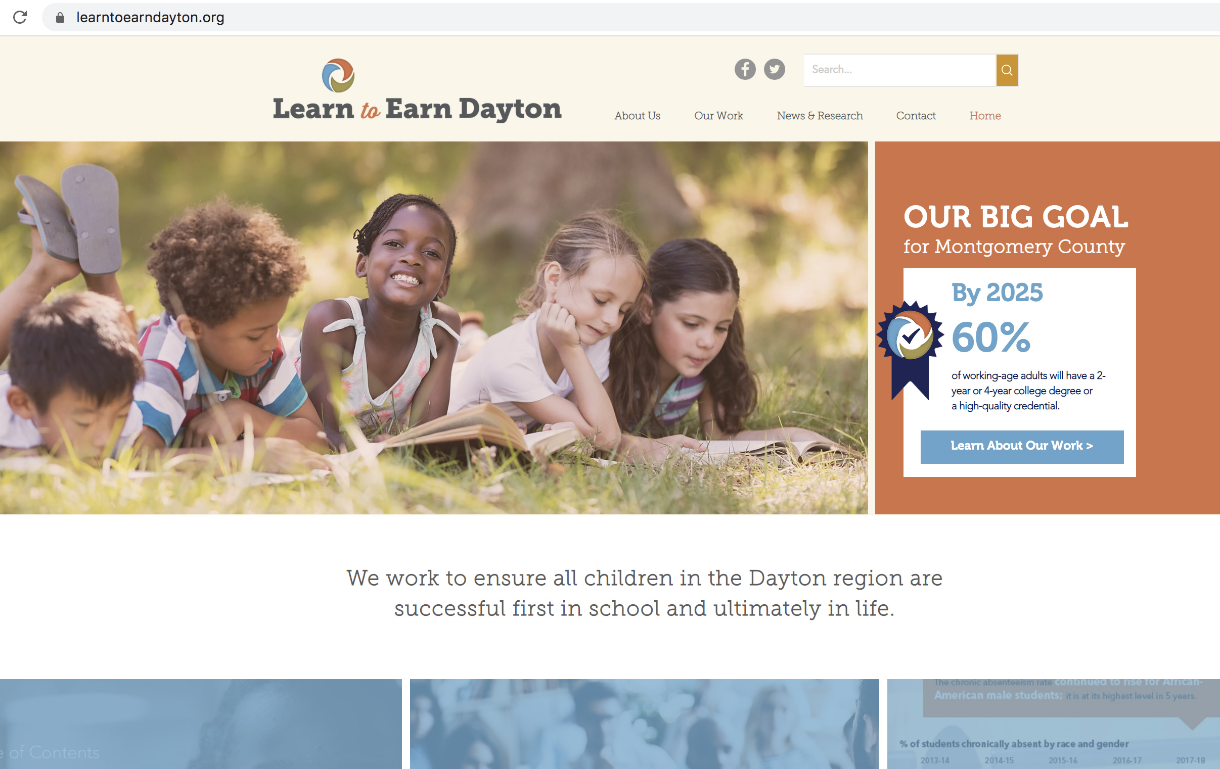 Website: Learn to Earn Dayton