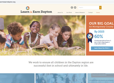 Learn to Earn Dayton Site Launches