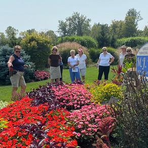 Muirfield Garden Club Visits the M.J. Gardens