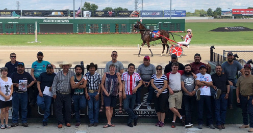 M.J. Design team at Scioto Downs