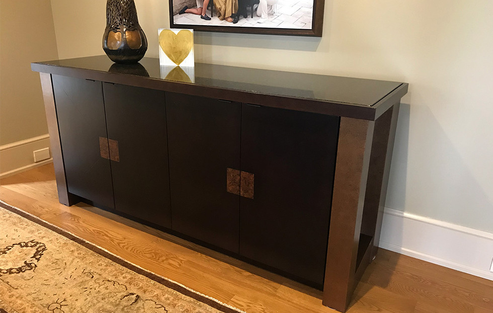 Custom Buffet Piece, Snider Metcalf Interior Design