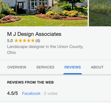 Have a review to share about M.J. Design?