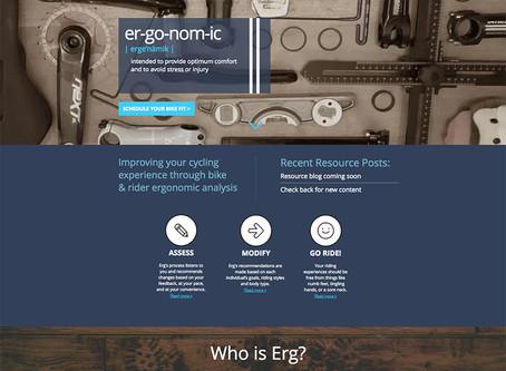 ErgCycling.com Hits the Web!